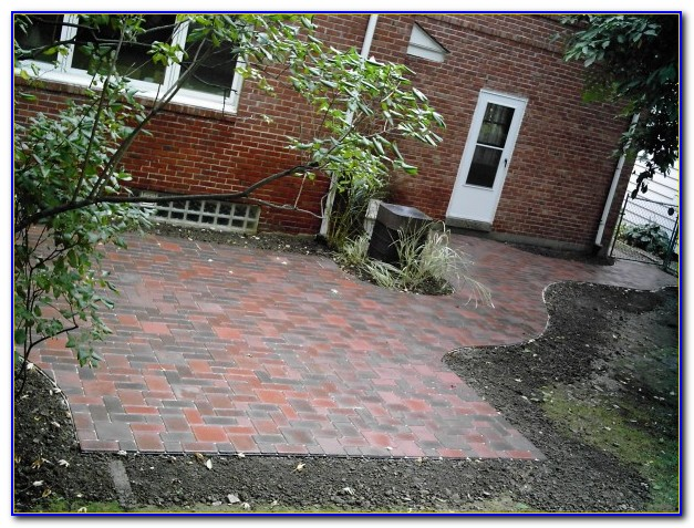 Paver Stone Patio Kits