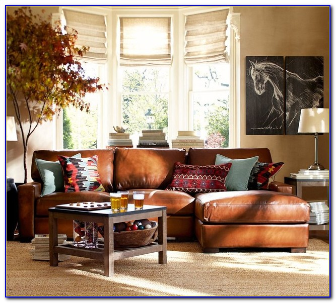 Pottery Barn Living Room Inspiration