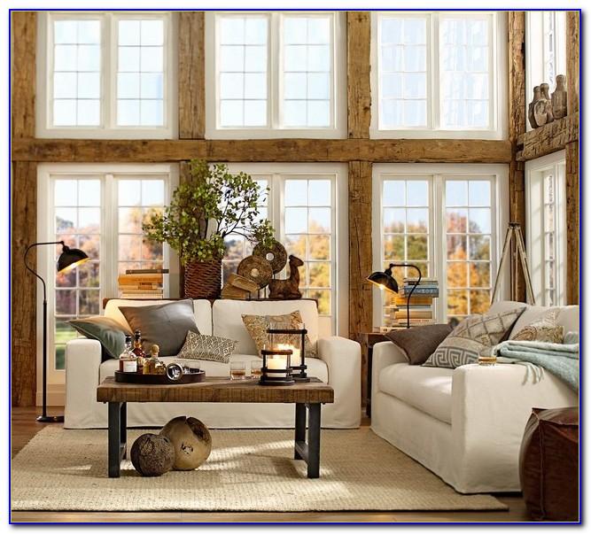Pottery Barn Living Room Pinterest