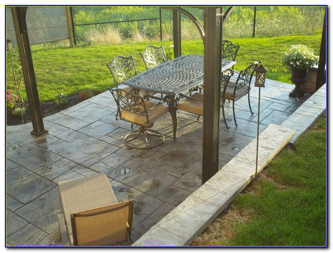 Pouring Concrete Patio Do It Yourself