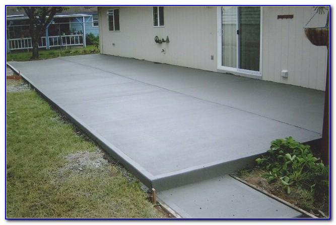 Pouring Concrete Patio Pavers