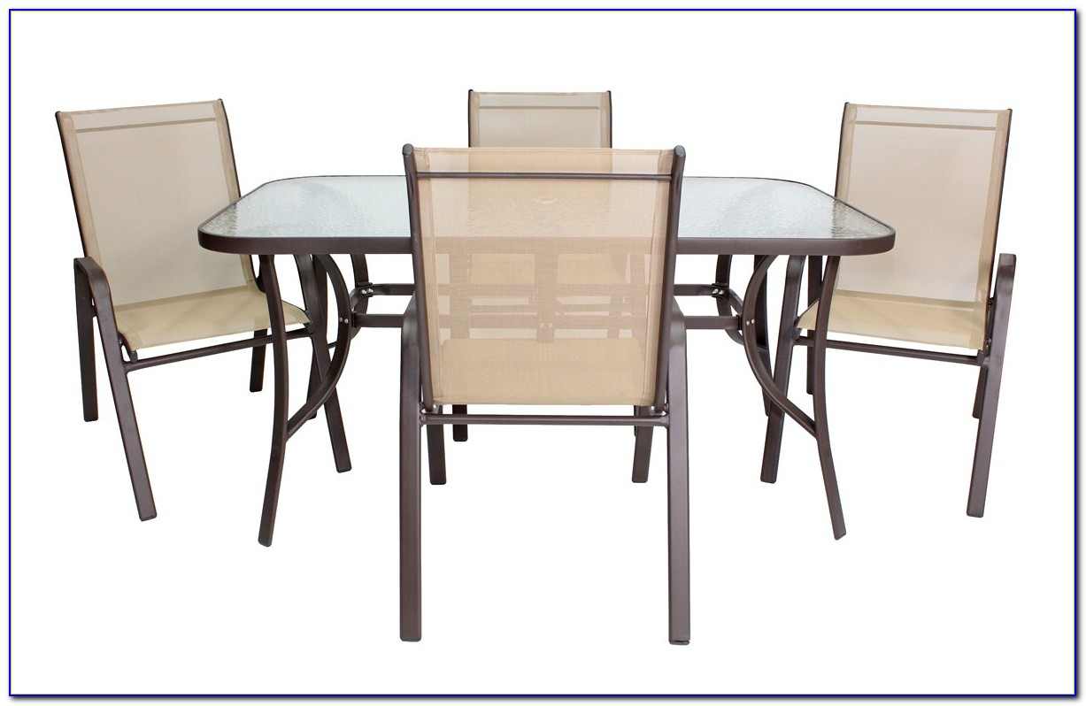 Rectangle Patio Table Glass