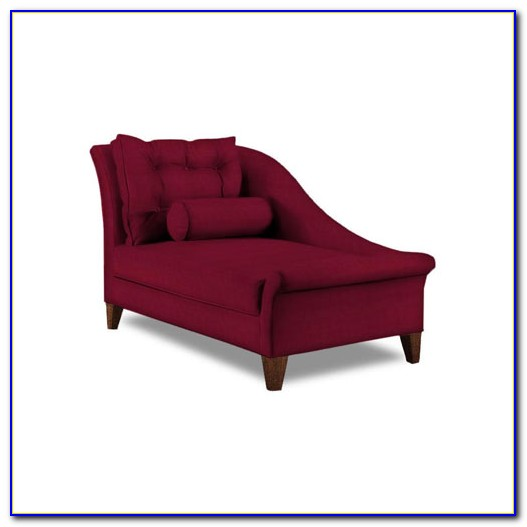 Red Living Room Chaise Lounge
