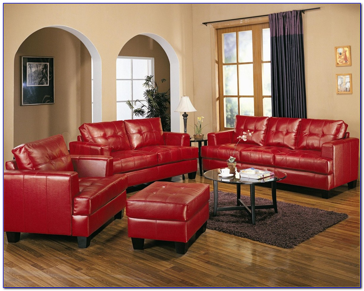 Red Sofa Living Room Ideas