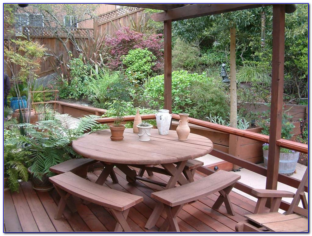 Redwood Patio Furniture Stain