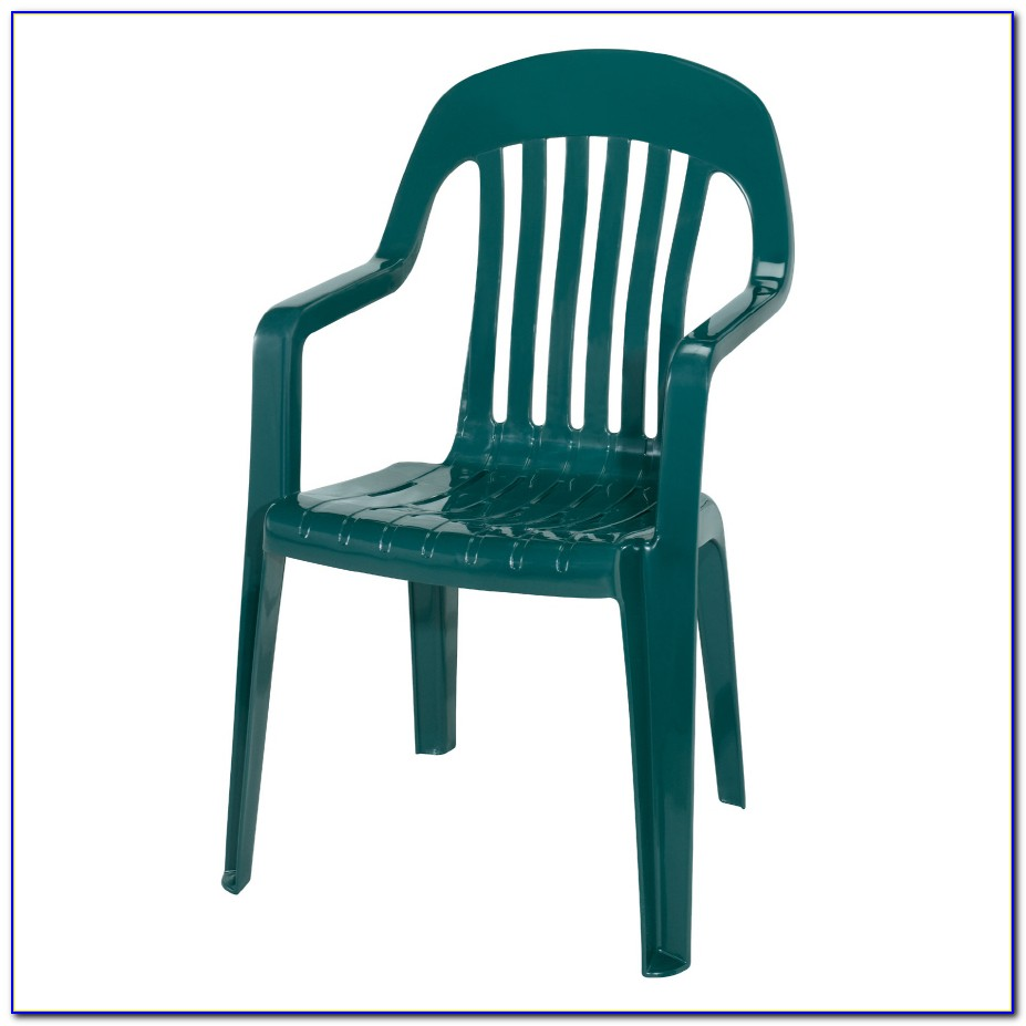 Resin Patio Chairs Green