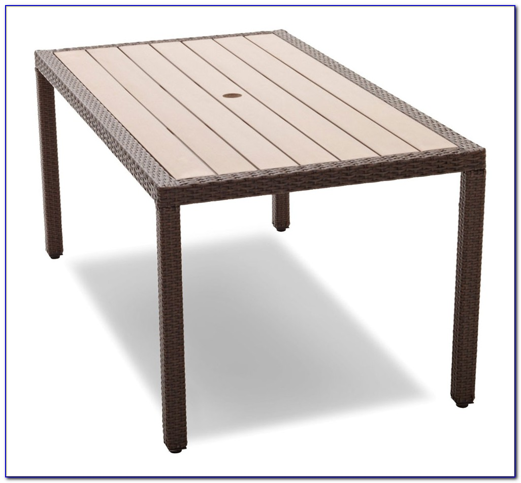 Resin Patio Table And Chairs