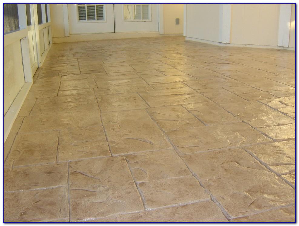 Resurface Concrete Patio Floor