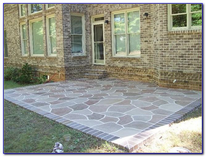 Resurface Concrete Patio Pavers
