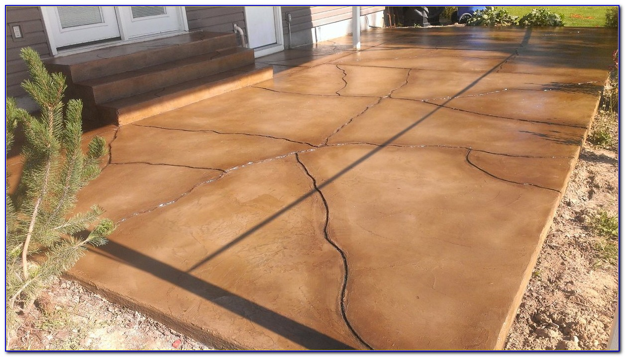Resurfacing Concrete Patio With Tile