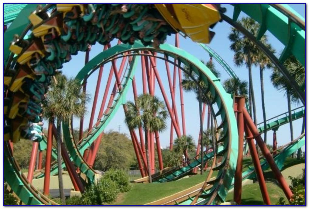 Rides At Busch Gardens Youtube