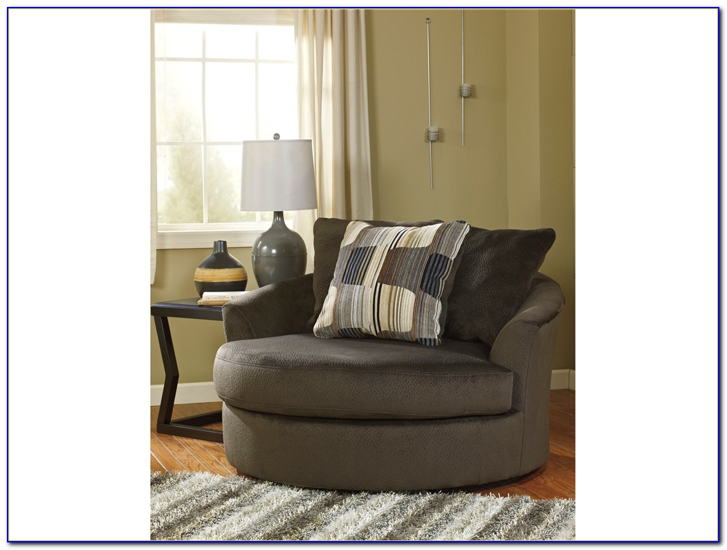Round Oversized Living Room Chairs