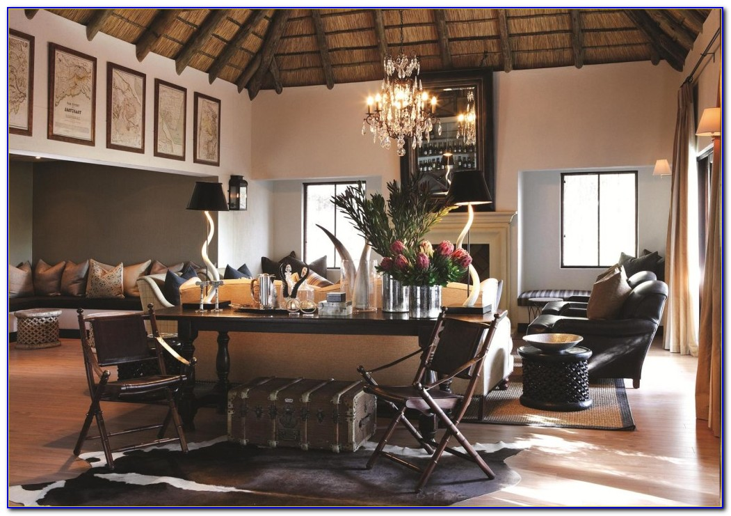Safari Style Living Room Ideas