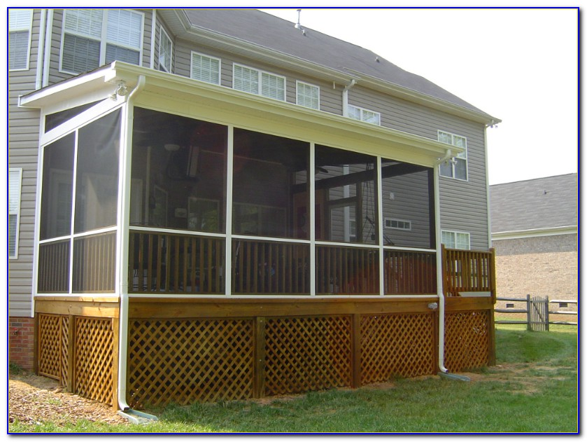 Screened In Covered Patio Ideas