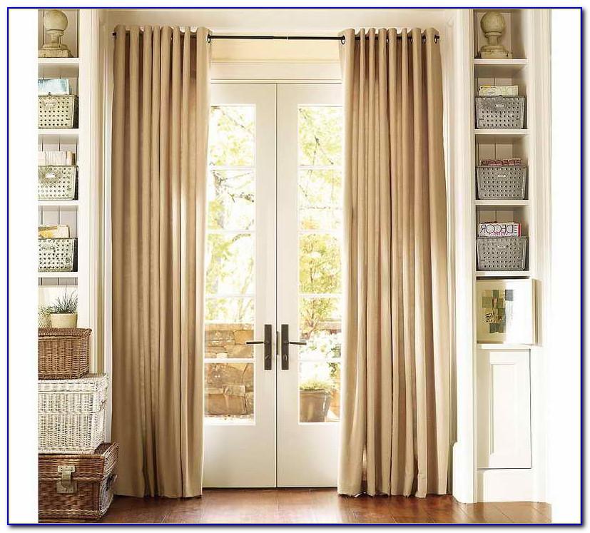 Sliding Glass Door Curtains Pinterest