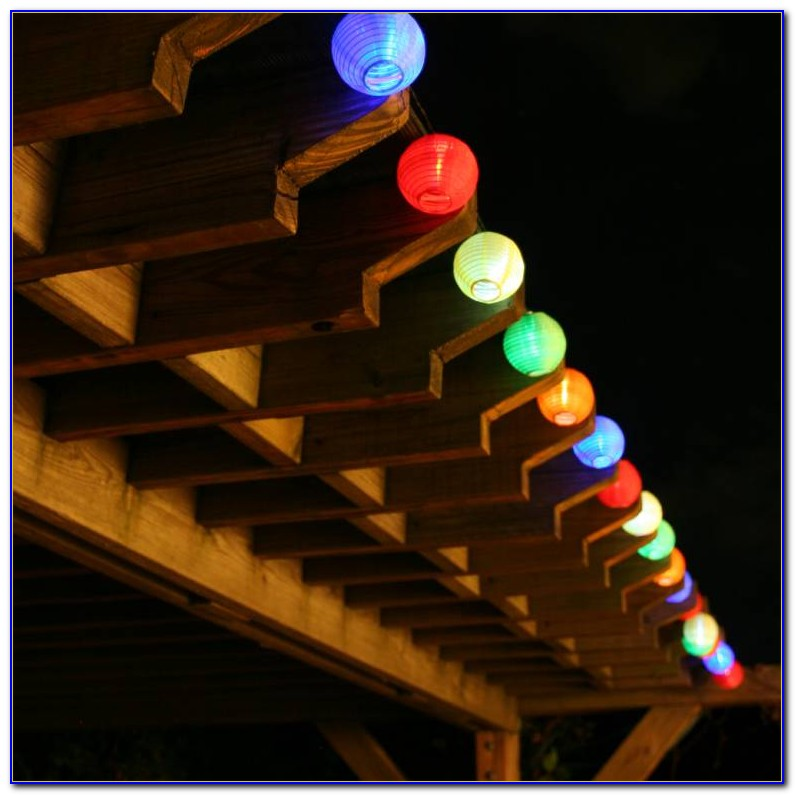 Solar Led Patio String Lights