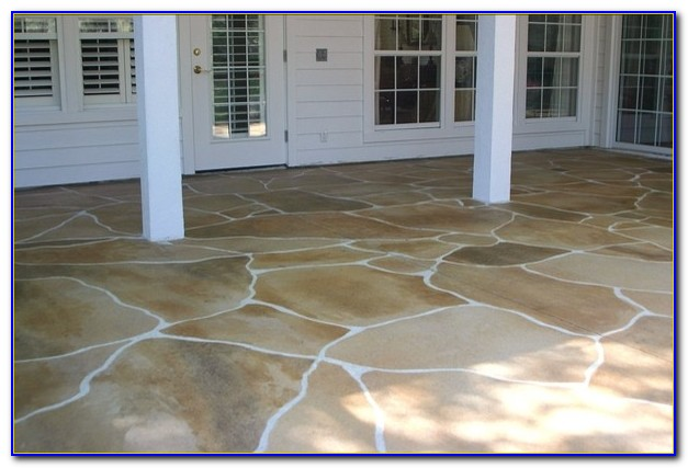 Staining Concrete Patio Floors
