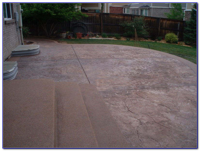 Stamped Concrete Patios Cincinnati
