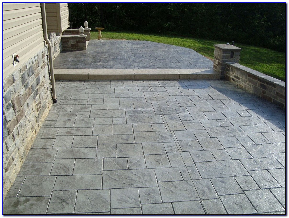 Stamped Concrete Patios Dayton Ohio