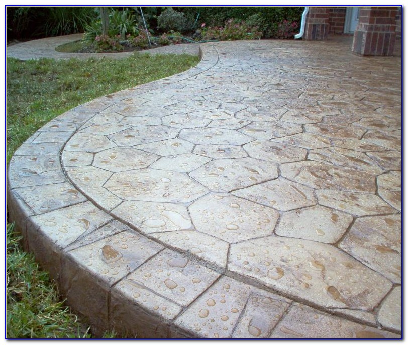 Stamped Concrete Patios Maryland