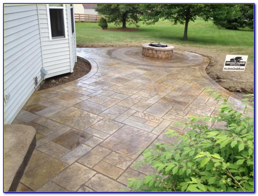 Stamped Concrete Patios Rochester Ny