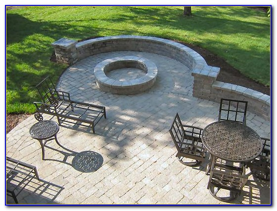 Stone Paver Patio Diy