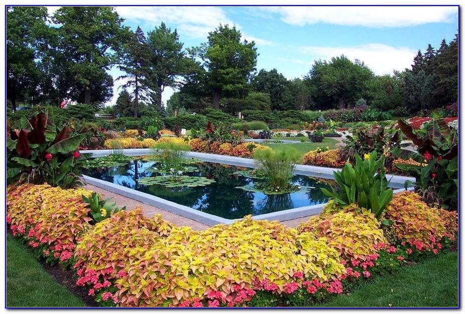 Sunken Gardens Lincoln Nebraska