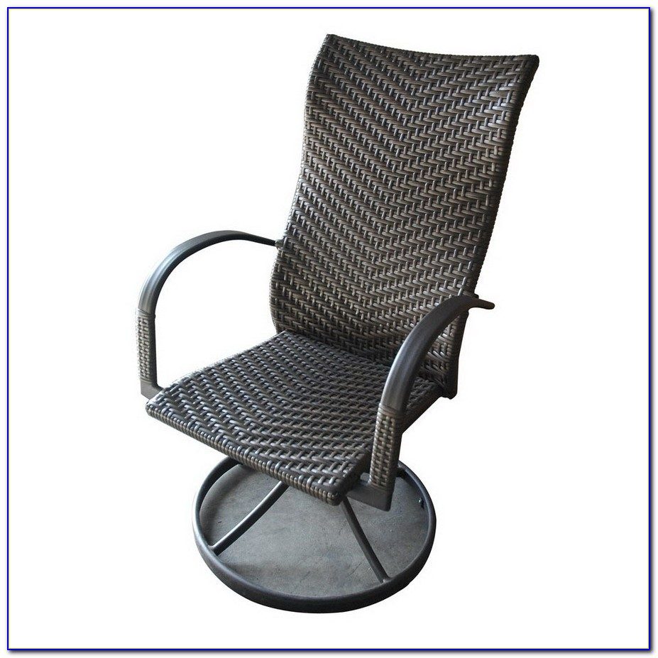 Swivel Patio Chairs Aluminum
