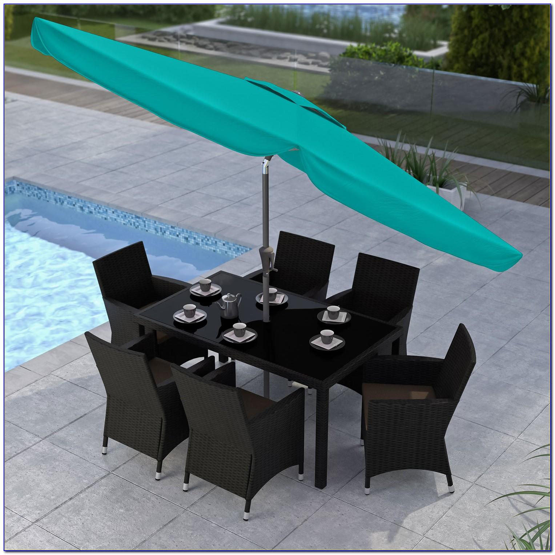 Turquoise 9 Patio Umbrella