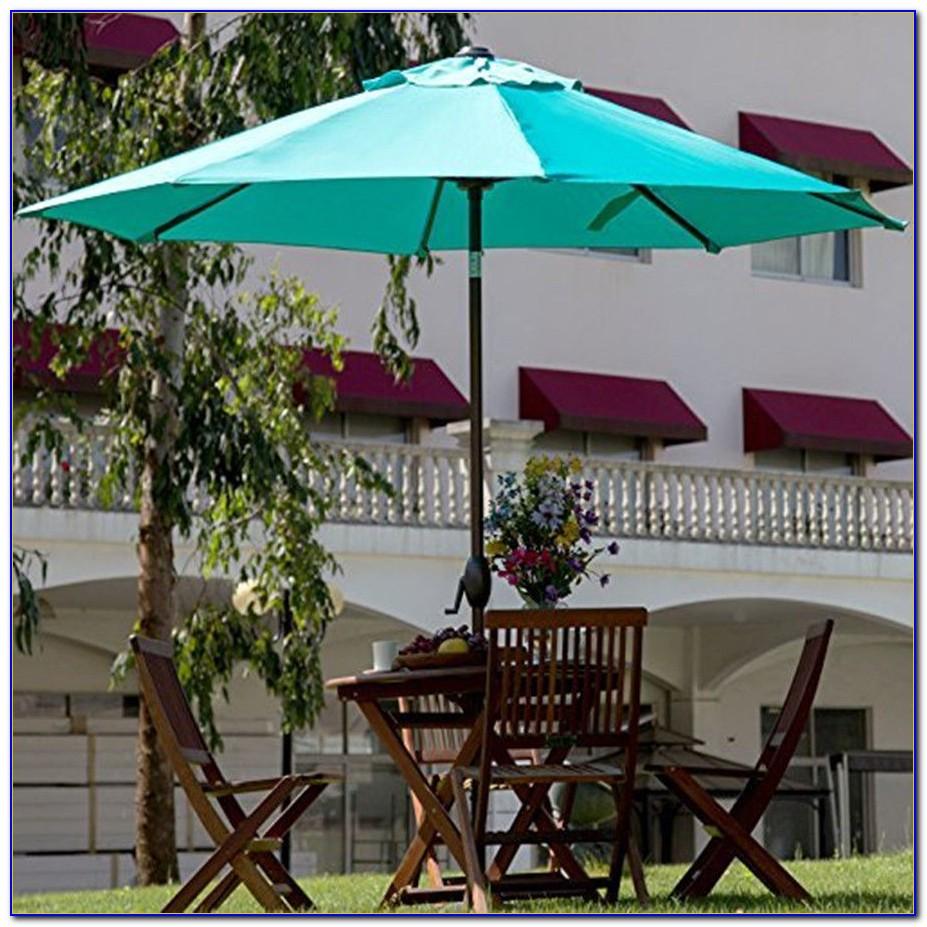 Turquoise Patio Umbrella