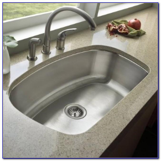 Undermount Kitchen Sink With Drainboard