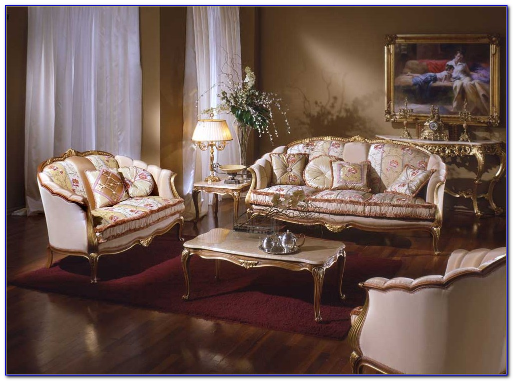 Used French Provincial Living Room Furniture