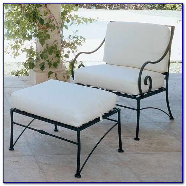 Vintage Wrought Iron Outdoor Furniture
