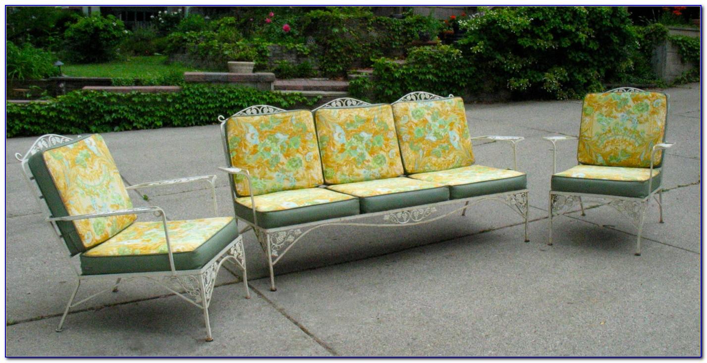 Vintage Wrought Iron Patio Furniture Patterns