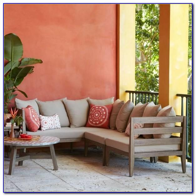 West Elm Wicker Patio Furniture