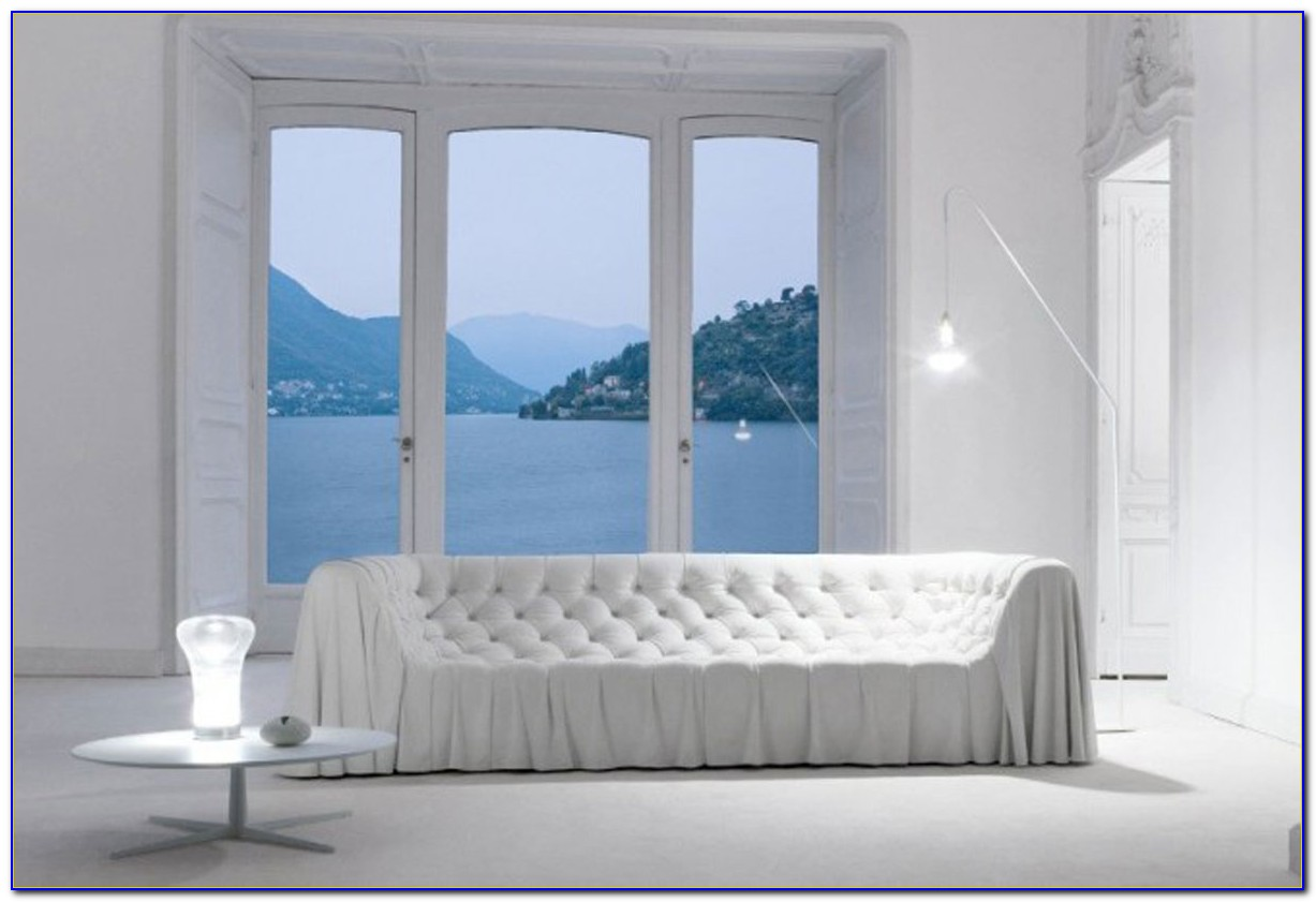 White Sofas In Living Rooms