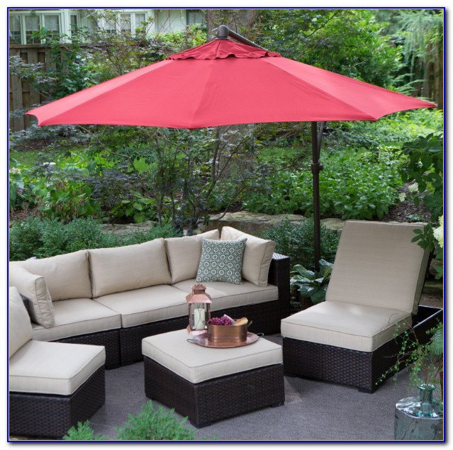 13 Foot Offset Patio Umbrella