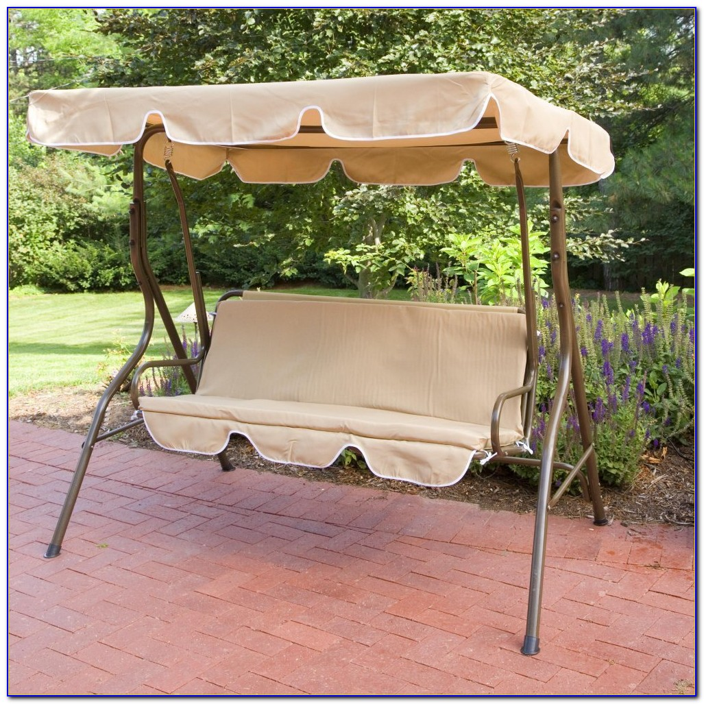 2 Person Patio Swing With Table