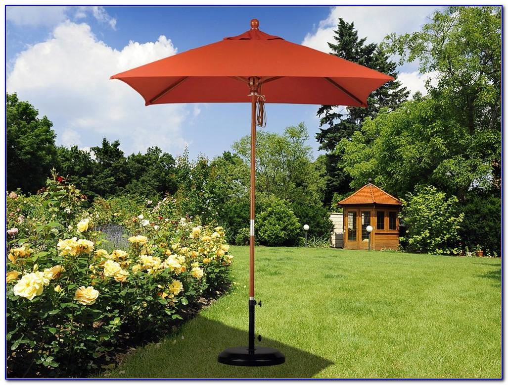 6 Ft Square Patio Umbrella