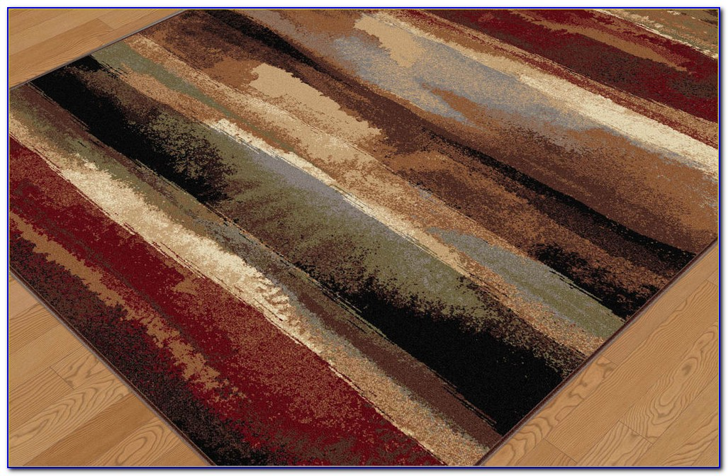 Abstract Area Rugs 8x10