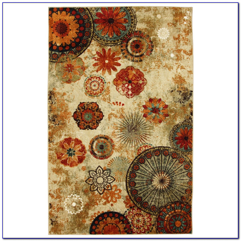 Abstract Art Area Rugs