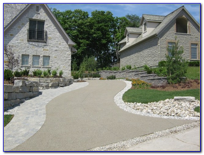 Aggregate Concrete Patio Ideas