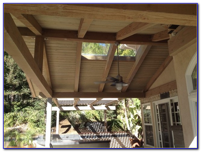 Aluminum Attached Patio Cover