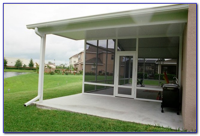 Aluminum Patio Roof Panels Orlando