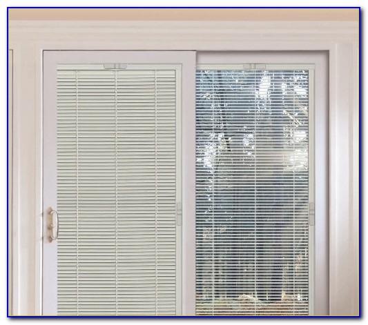 Andersen Patio Doors With Blinds Inside