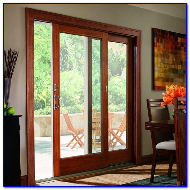 Anderson Sliding Patio Doors With Blinds Between Glass