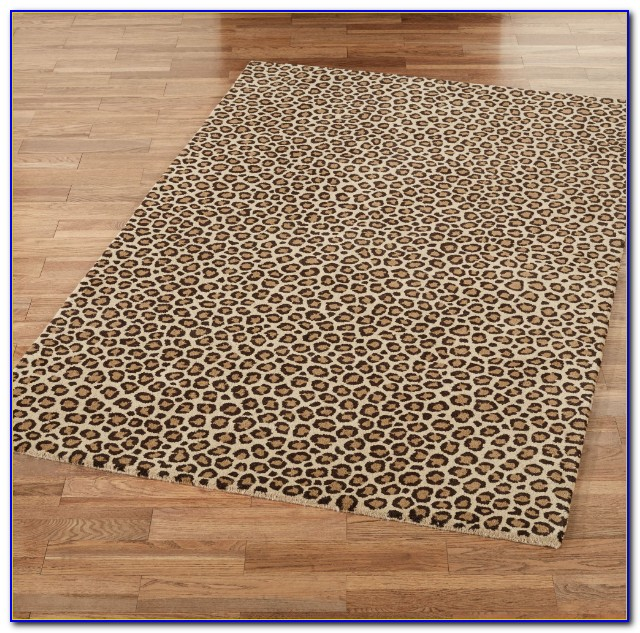 Animal Print Rugs Amazon