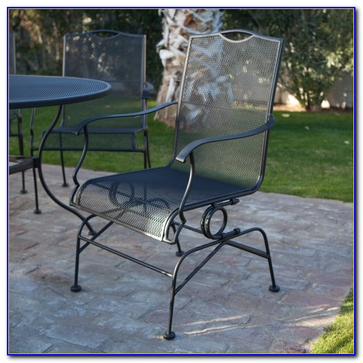 Antique Woodard Wrought Iron Patio Furniture