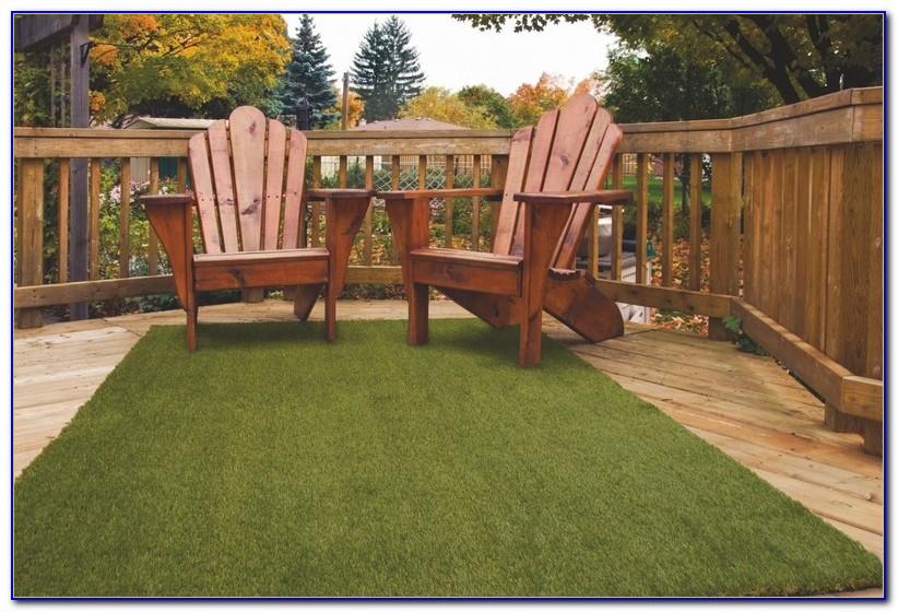 Artificial Grass Rug For Patio