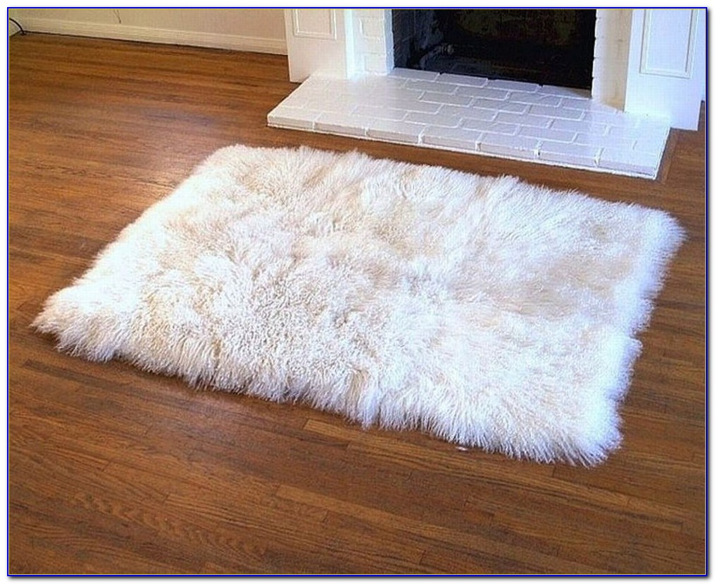 Big Furry Area Rugs